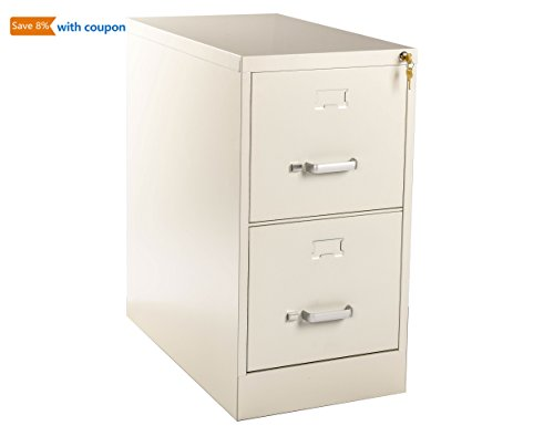 Cheap  Henlus File Cabinet 2-Drawer Home Office 26.5