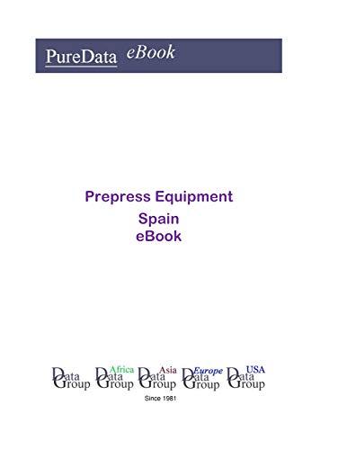 Prepress Equipment in Spain: Market Sales