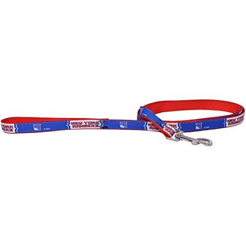 New York Rangers Dog Pet Premium 6ft Nylon Leash Lead Licensed - New Fan York Hunter Rangers