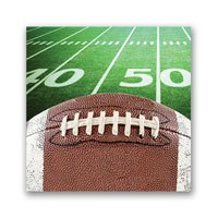 Game Day! Football Tailgate Party Napkins Bundle (48)
