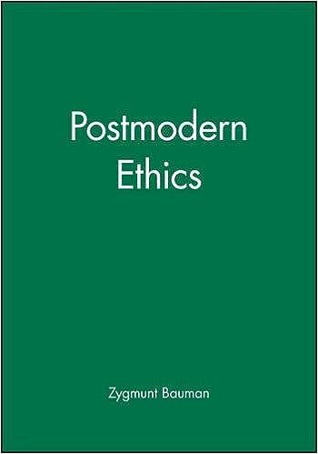Postmodern ethics zygmunt bauman 9780631186939 amazon books fandeluxe Gallery