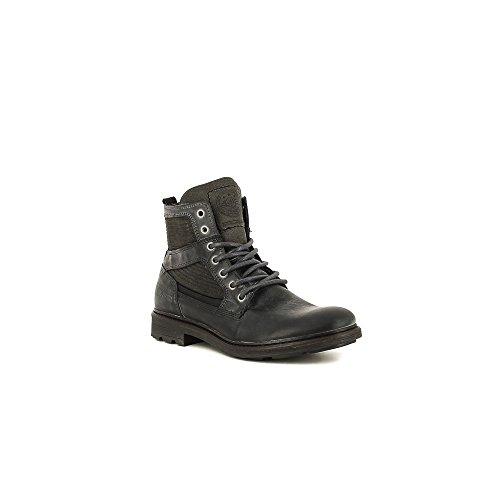 Bullboxer 752-K8-4158C Zapatos de cordones Hombre gris, EU 42