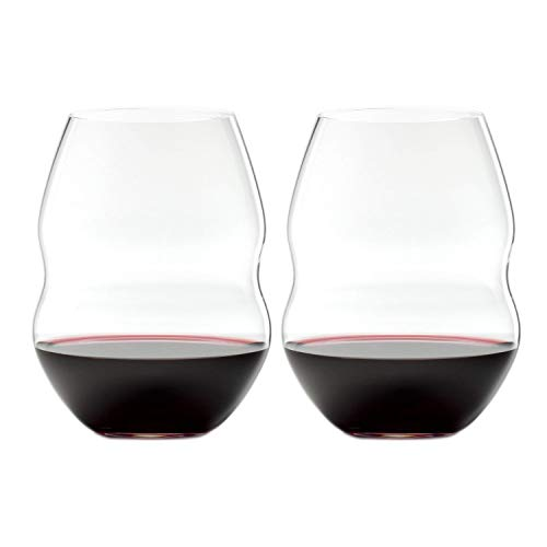 Riedel Swirl Red Wine Glasses, Set of 2