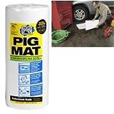 "New Pig Corporation (NPG26201) PIG Water-Repellent Oil-Absorbent Light-Weight Mat Roll - 15"" x 50' (60 Pads per Roll)"