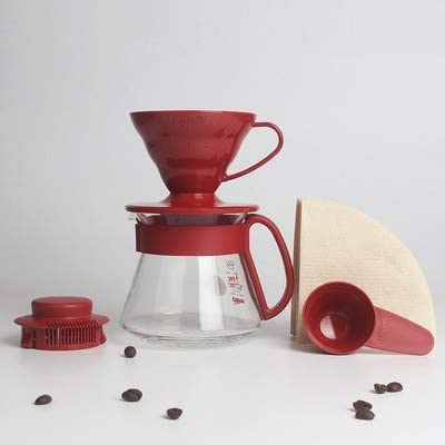 Yshen Cafetera Taza de café exprés Vasos de Filtro Embudo Goteo ...