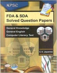 Amazon in: Buy Kpsc Fda & Sda Solved Question Papers Book