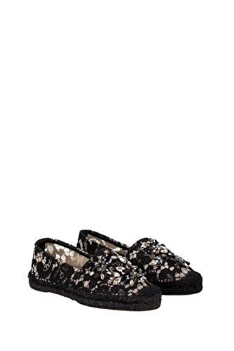 CE0002AL198 amp;Gabbana Dolce Nero Donna Espadrillas 5RwtFqWW