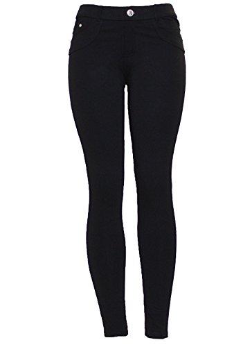 Skinny Noir Black Femme Noir Silver Barfly Jeans Fashion wIPREE
