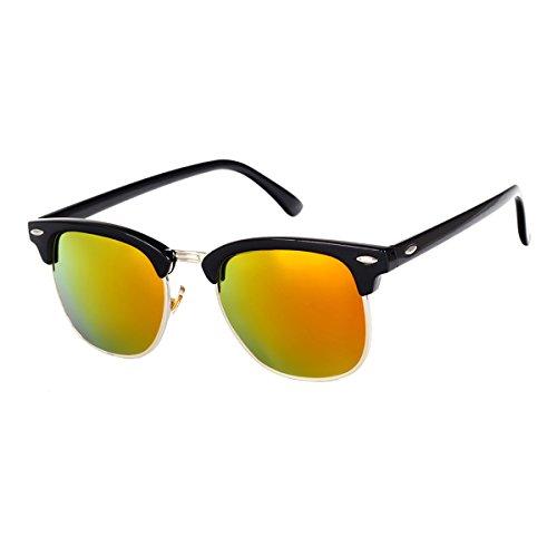 GUVIVI Neutral Retro Border Polarized Sunglasses - Sunglasses Expensive For Men