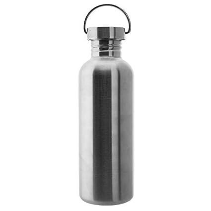 Laken Botella de Acero Inoxidable con Tap/ón de Rosca Acero y Boca Ancha
