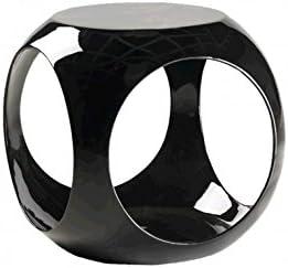 CAMINO A CASA – Reposapiés Design Pelota Negra Cube: Amazon.es: Hogar