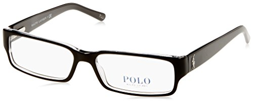 Polo Ralph Lauren PH2039 Eyeglasses Top Black / Crystal 54mm [Apparel]
