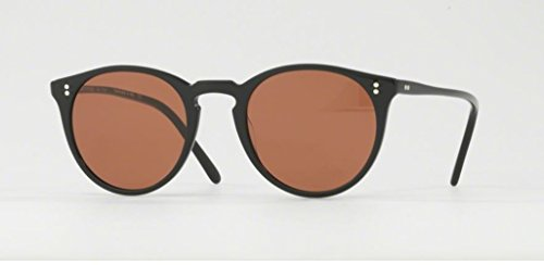 Oliver Peoples O'Malley NYC- Pure Black / Persimmon - 5183 100553 - Peoples O Malley Oliver