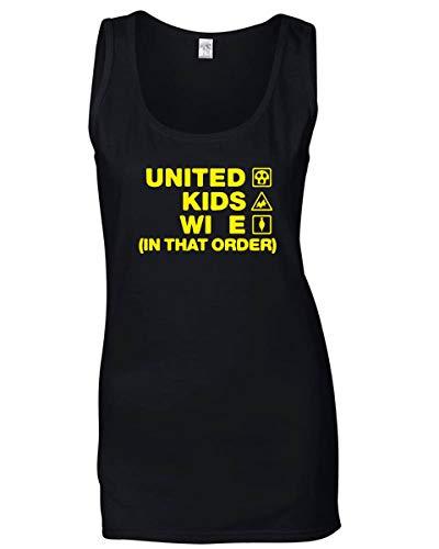 T Oxford Wife Wc1184 Mujeres Las Singlete Kids United Para Negro Order shirtshock q0BCqrwA
