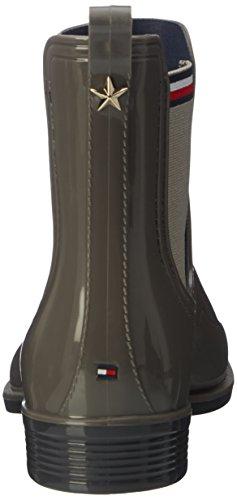 Gris Urban Grey de Lluvia Mujer 11r O1285dette para Tommy Botas Hilfiger U4aOnqS