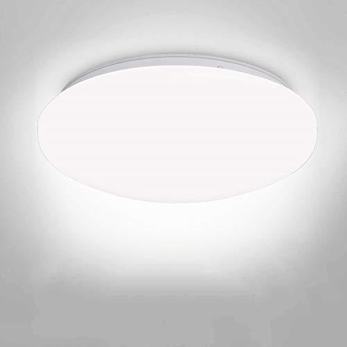Albrillo LED Flush Mount Ceiling Light, 150 Watt Equivalent 1400lm, Ceiling Light Fixture for Closet Bathroom Hallway Basement, Daylight White 4000K