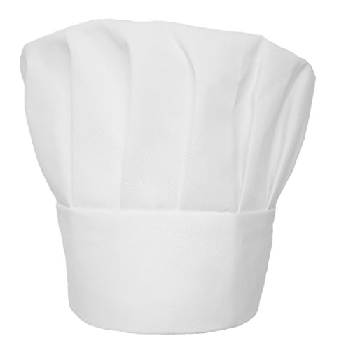 BoldWays Obvious Chef - White Chef Hat - Adjustable Fit - Adult (Cookie Monster Winter Hat)