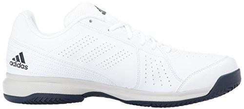 Scarpa Da Tennis Adidas Per Uomo Da Avvicinamento, Bianco / Nero / Bianco, Inchiostro Metallizzato / Mistero Da 11,5 M Us Bianco / Notte