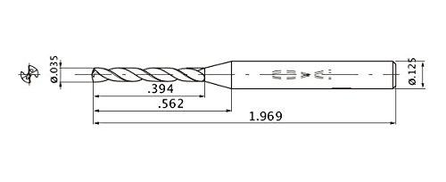 Pferd 102160H1 Precision file 6,3 type of cut 1 hand