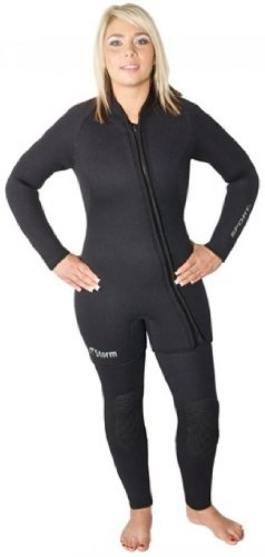 Storm Size 16 XX-Large 7mm 2 Piece Step-In Wetsuit for Women - Great for Cold Water, Diving, Snorkeling, and - Wetsuit In Pool