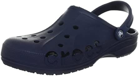crocs Unisex Baya Clog, Navy, 9 M (D) US Men / 11 M (B) US Women