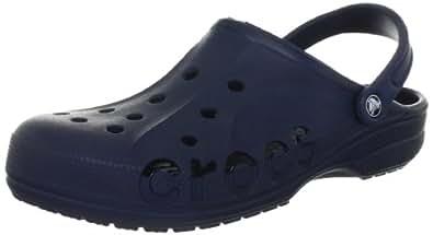 crocs Baya - Zuecos de material sintético unisex, color azul (navy), talla 36-37