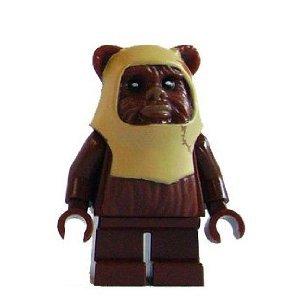 Lego Star Wars Ewok Paploo Minifigure (Lego Star Wars Ewoks)