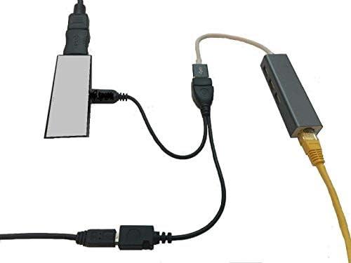 LAN Ethernet Adapter for FIRE Stick 2nd Gen, 3rd Gen 4K, Fire TV Gen 3rd...
