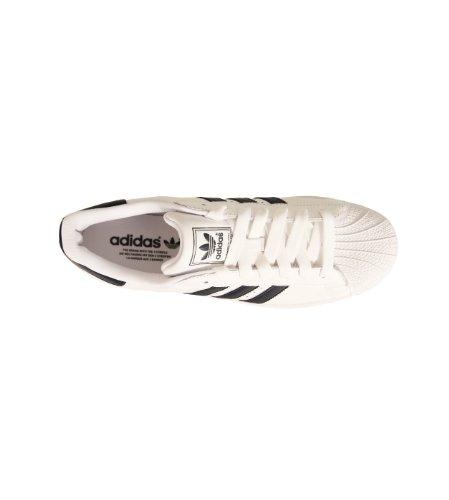 a Collo Uomo adidas 2 Basso Bianco Blanco Superstar Sneaker q4xqPwITt