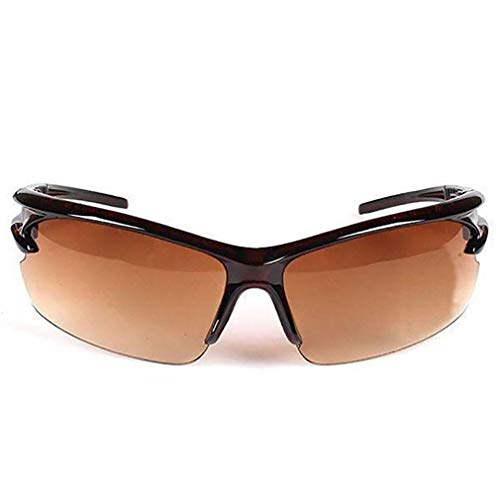 WSAJAnjei Sports Bicycle Road Bike MTB Sunglasses Men Women Cycling Sunglasses Eyewear Safety Goggle Transparent Champagne]()