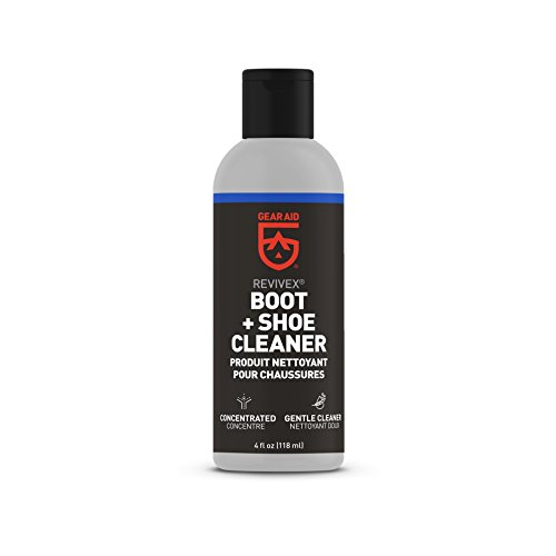Gore Tex Boot Suede (Gear Aid Revivex Boot and Shoe Cleaner for Leather, Suede and Fabric, Concentrated, 4 fl oz)
