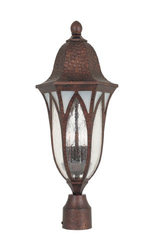 Designers Fountain 20626-BAC Traditional/Classic Light Berkshire Medium Outdoor Sconce, Burnished Antique Copper (Ul Copper Sconce)