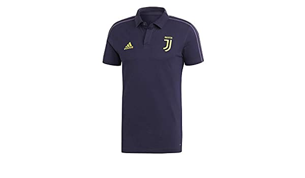 adidas 2018-2019 Juventus UCL Polo Football Soccer T-Shirt ...