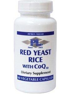 Progressive Labs - levure de riz rouge avec CoQ10 60 vcaps