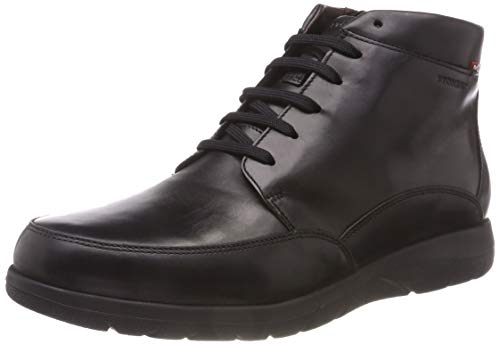 Stonefly Space Man Outdry 3 Calf Idro, Scarpe Stringate Oxford Uomo Nero (Nero 000)