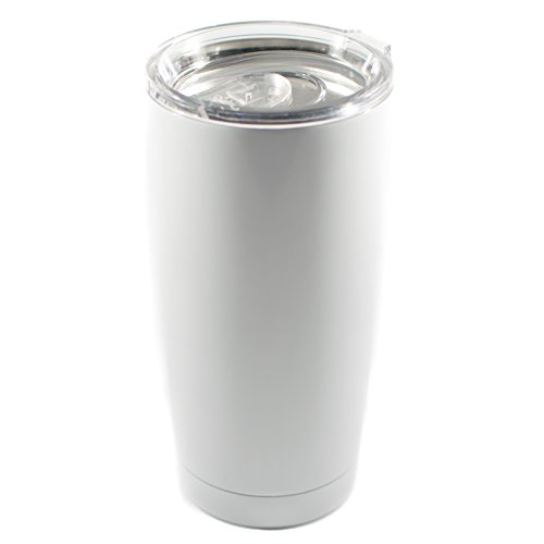 Magnum Steel Tumbler Gloss White product image