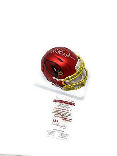 314b53923bc Kurt Warner Arizona Cardinals Signed Autograph Blaze Mini Helmet GTSM Warner  Holo JSA Witnessed Certified