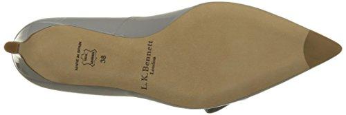 L.K. BENNETT Berenice, Zapatos de Tacón para Mujer Gris (MIST)
