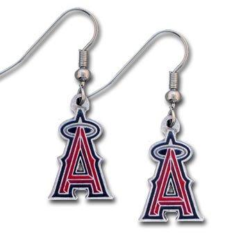(Los Angeles Angels of Anaheim Dangle Earrings)
