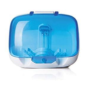 Ainstsk Esterilizador de cepillos de Dientes, Montaje en la Pared, UV, luz de Cepillo, esterilizador, Limpiador… 1