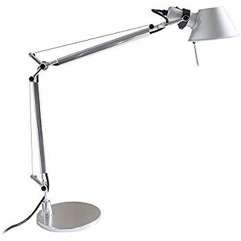 MODO TL-05 Silver Color Office Desk Lamp Polished Aluminum Lights
