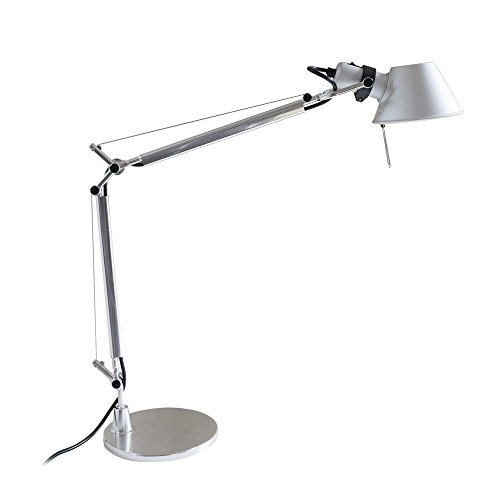 MODO TL-05 Silver Color Office Desk Lamp Polished Aluminum Lights