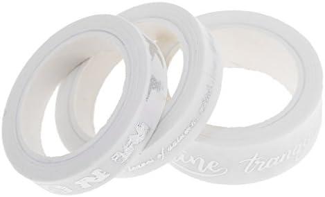 手芸用 粘着性 和紙 テープ 手作り ノート 付箋  装飾 ラベル  マスキングテープ 3つ入り
