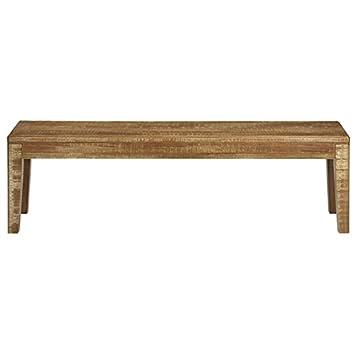 BrasilmÖbel Bench Eucalyptus Hardwood Solid Wood Shabby 210 X 35 Cm