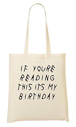 CP If You'Re Reading This It'S My Birthday Bolso De Mano Bolsa De La Compra