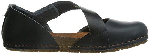 Mujer Zapatos Art Creta 1 Negro Abiertos Para 442 AqtYp7rt