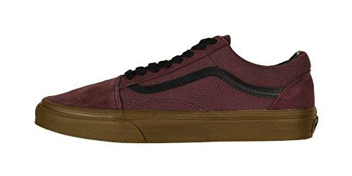 Vans Sk8 Salut-checkerboard, Unisexe - Chaussures De Sport Adulte -skateboarding Raisin Catawba