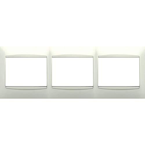 Bjc - 21213 marco 3 elementos horizontal coral blanco Ref. 6530510183: Amazon.es: Bricolaje y herramientas