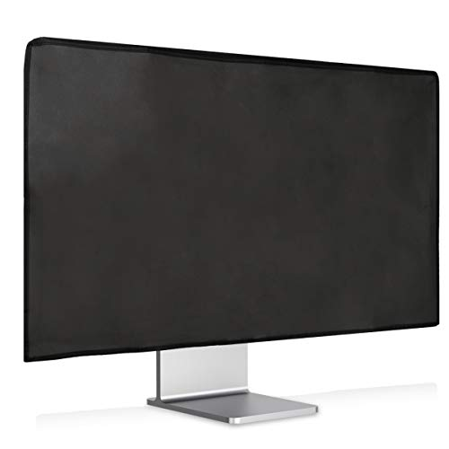kwmobile Monitor Cover Compatible with Apple Pro Display XDR - Anti-Dust PC Monitor Screen Display Protector - Dark Grey