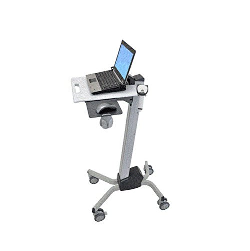 Ergotron 24-205-214 Neo-Flex Laptop Cart - Cart for notebook - plastic, aluminum, steel - two-tone gray by Ergotron